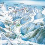 Plan des pistes de ski de descente Le Mont Dore