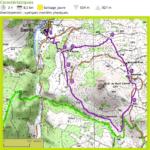 Carte IGN randonnée du Pic du Brionnet