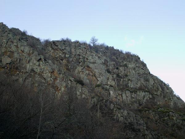 Site d'escalade Saurier