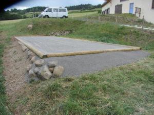 Terrain de pétanque, Gite de Groupe Buron de besse